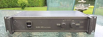 Quad 520 2 channel BBC power amp. Original version. 30 day warranty.