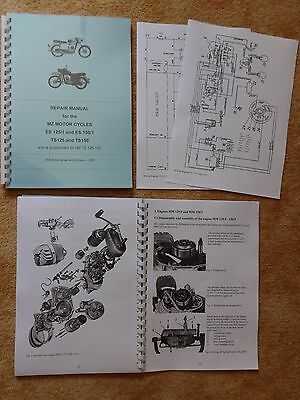 Repair Manual WORKSHOP MANUAL MZ ES 125/1 150/1 TS 125 150 MM 125/3 150/3