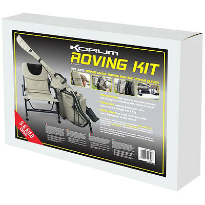 NEW Korum Roving Kit KCHAIR-48