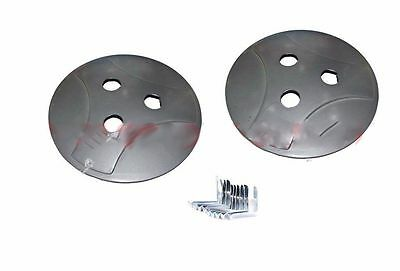 Vespa Px Lml Cosa Stella Wheel Disc Set Wheel Cap Set With Clips @aud