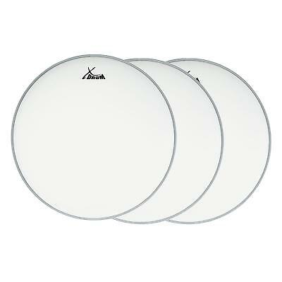 "Xdrum Session Professionnel 3 X 14"" Coated Snare Peau Pour Batterie Mylar Neuf"