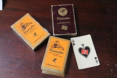 The Milwaukee Road Hiawatha Playing Cards 1935  - Full Deck -