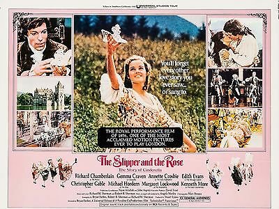 "The Slipper and the Rose 16"" x 12"" Reproduction Movie Poster Photograph"
