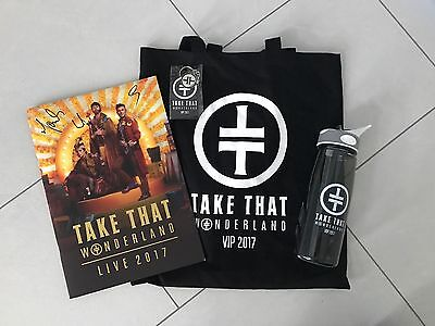 Take That Wonderland Vip Merchandise