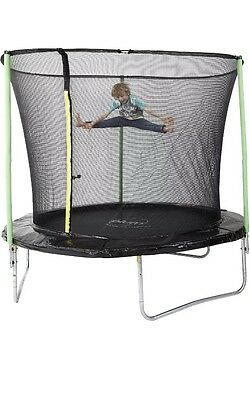 Plum Round 8ft Trampoline with Safety Net Enclosure