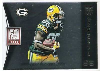 Ty Montgomery 2015 Panini Elite Rc Rookie Card - Green Bay Packers