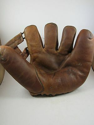 Vintage RL model Leo Durocher baseball glove