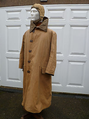 Ww1 Royal Flying Corps Overall Canvass Jacket And Flying Helmet