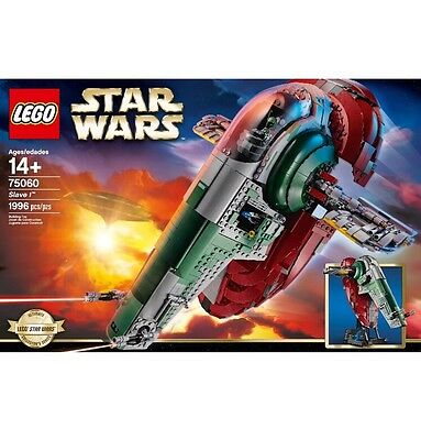 LEGO Star Wars *UCS* (75060) Slave 1 (Brand New & Factory Sealed)