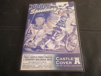 Poole V Coventry 2007  2 Meetings (2 Discs) Original Region 2 Dvd