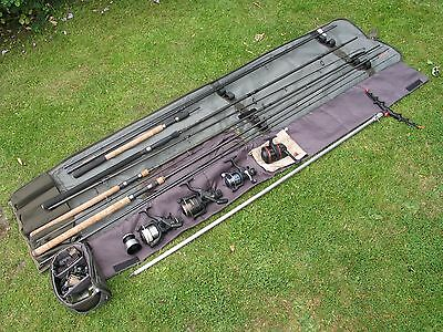 river/specimen rods and reels, shimano, greys, normark