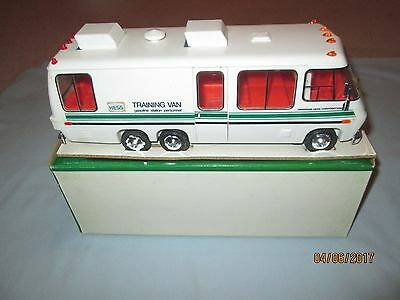 1978 Hess Training Van with Original Box and Inserts. LN Never Used