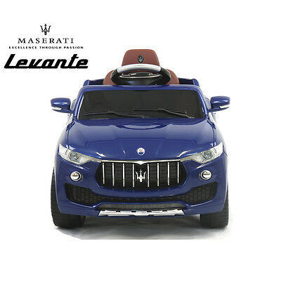 Licensed Maserati Levante  6v Kids ride on car With Remote Control 3 speed