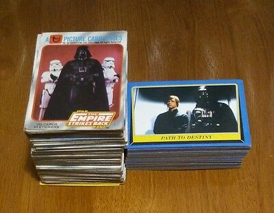 Lot Of (129/60) Topps Empire Strikes Back/Return Of The Jedi Cards (See Descr.)