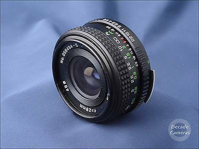 5558 - M42 Universal Mount Helios 28mm f2.8 Wide Angle Lens