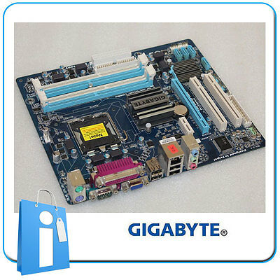 Placa base GIGABYTE GA-G41M-COMBO ddr2 ddr3 Socket 775 con Defecto AUDIO
