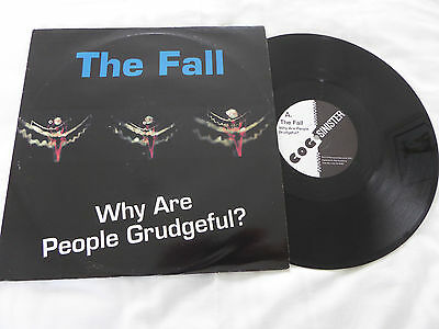 """The Fall - Why Are People Grudgeful? UK 1993 12"""" single Cog Sinister Ex!"""