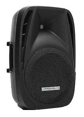 Enceinte Hautparleur Dj Pa Monitor Baflle Sonorisation Mp3 Bluetooth Active 300W