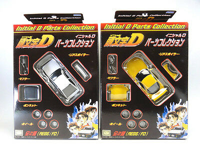 INITIAL D Parts Collection AE86/FD Complete Set of 2 SEGA JAPAN