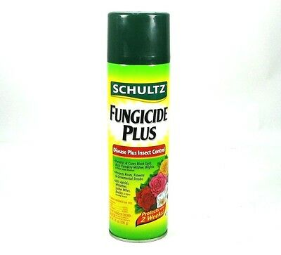 SCHULTZ Fungicide Plus, Disease & Insect Control, 14oz Spray Can, 2 Week Control