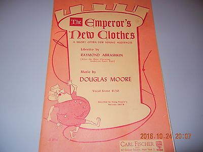 Emperor's New Clothes VOCAL SCORE Young Audience MUSIC TEACHERS CONTACT US