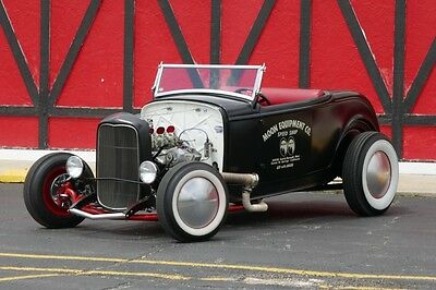 1932 Ford Other ICONIC AMERICAN HOTROD 1932 Ford Roadster -HI BOY-FAMOUS MOONEYES-CALIFORNIA BUILD
