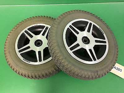 Wheels and Tires Pride Jazzy 614 HD  3.00-8 Foam Filled  ~set of 2~ #A203