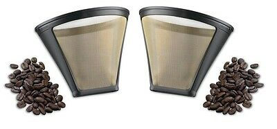 Cuisinart GTF-4 Gold Tone Filter for DCC-450 Coffee Maker, Set of 2