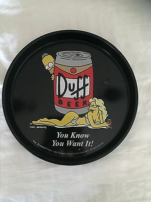 The Simpsons drink tray 1996