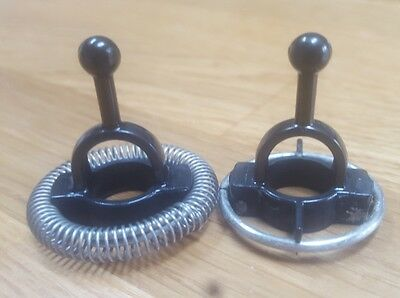 2 Used Nespresso Aeroccino 3 Whisk Frother Milk Frothing Machine Coffee