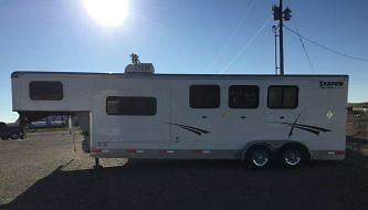 2014 Shadow Select three horse trailer with living quarters