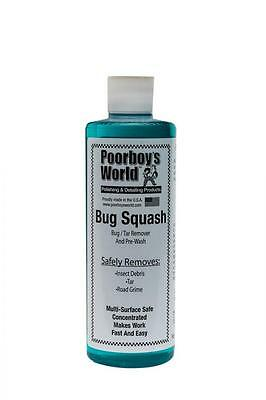 Poorboys Bug Squash Insect Tar Road Grime Remover & Pre Wash 4763ml