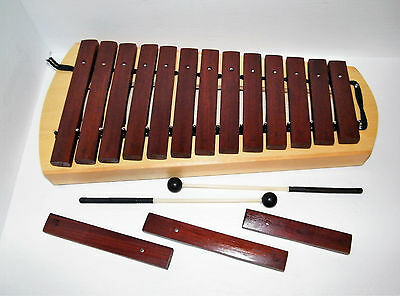 Stagg XYLO-P16 13 Bar Diatonic Xylophone in C W/ Gig bag, X Keys- Minor Bag Blem