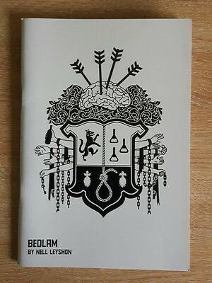 Bedlam By Nell Leyshon Programme From Shakespeare's Globe Theatre