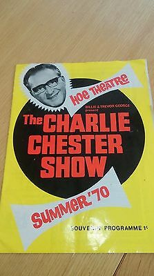 Theatre programme of 'The Charlie Chester Show' 1970