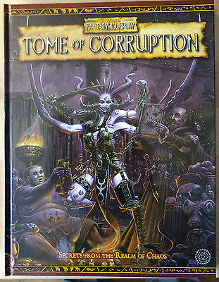Tome Of Corruption Wfrp Games Workshop Warhammer Fantasy Role-Play Book