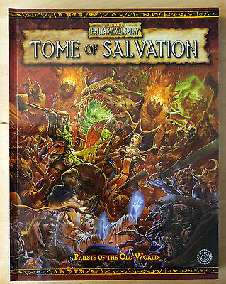 Tome Of Salvation Wfrp Games Workshop Warhammer Fantasy Role-Play Book