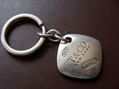 Faux? You Decide T & Co 2005 925 Sterling Silver Key Chain 30 Gram Weight