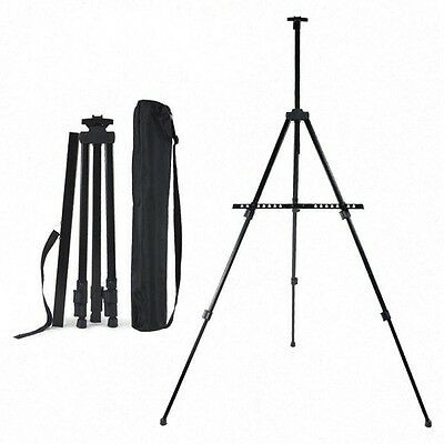 Adjustable Sketch Painting Easel Portable Folding Easel for Artist Outdoor