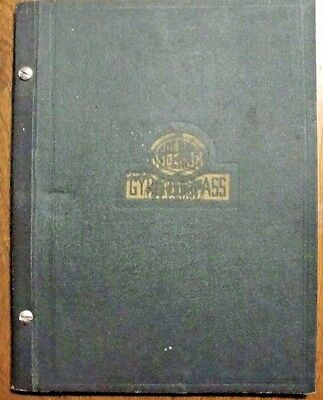 1933 SPERRY GYRO-COMPASS Instructions for the Care and Operation and PARTS LIST