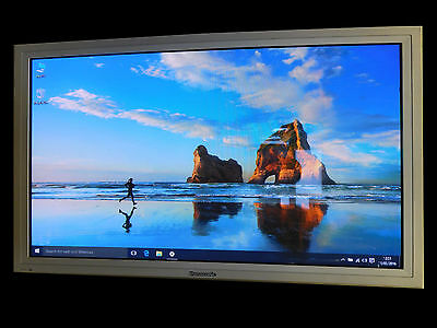 "42"" Zoll Panasonic Plasma Monitor Referenz TV LCD Messe Display Fernbedienung"