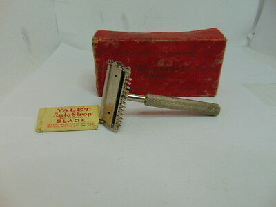 Vintage Auto-strop Safety Razor Valet with Box