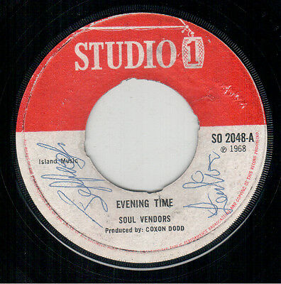 Jackie Mittoo - Evening Time / Righteous Flames - Ease Up - Studio 1