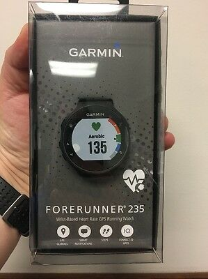 Garmin Forerunner 235 GPS Running Watch with HR (Black And Gray) New in Box !!!