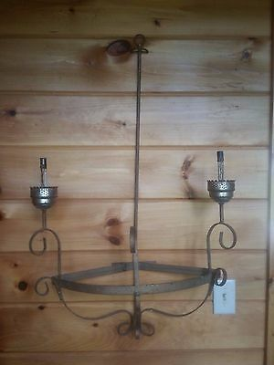 Vintage Large Wall METAL Sconce for DIY or Parts