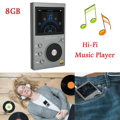 Dodocool 8Gb Lcd High Resolution Audio Digital Lossless Sound Hi-Fi Music Player