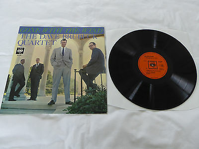 Dave Brubeck Quartet - Gone With The Wind UK 1959 LP CBS superb NM/Ex copy!