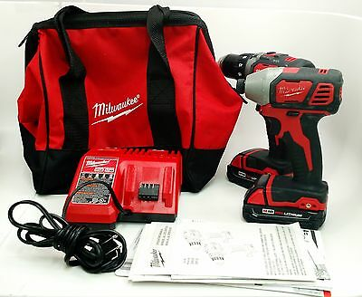 Milwaukee M18 Compact Brushless Drill and Impact Combo Kit 2798-22CT