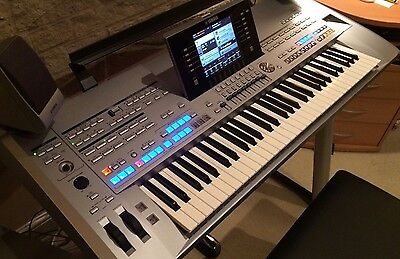 Yamaha Tyros 5 Keyboard Workstation With Speaker Pack, Stand, Pedal And Seat