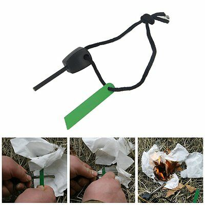 Easy to use portable Durable high-heat spark makes fire building easy Fire Start